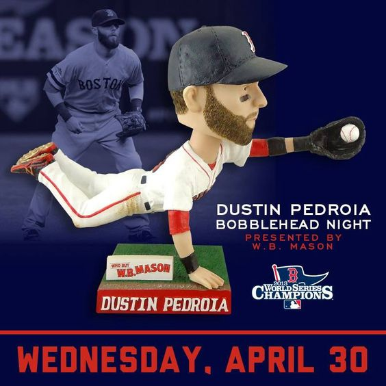 I want to get my hands on this Pedey bobble head!
