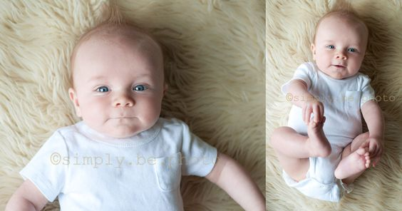 3-4 month old poses