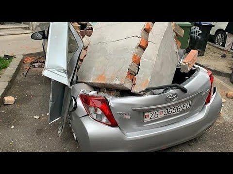 Earthquake In Zagreb Croatia Erdbeben In Kroatien 22 03 2020 Youtube Earthquake Zagreb Zagreb Croatia