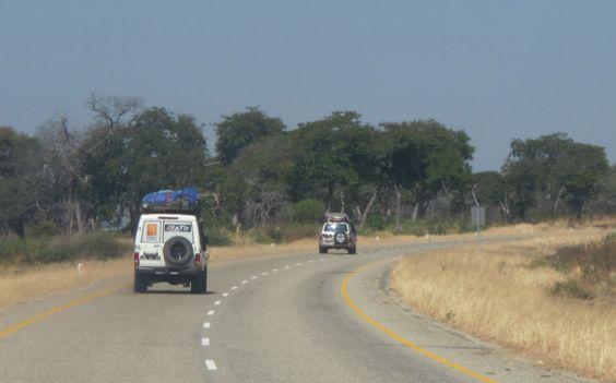 Caminho do Mongu para Livingstone. ATD/G80