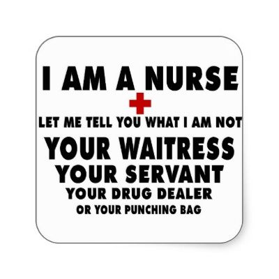 I Am A Nurse-Let Me Tell You Stickers