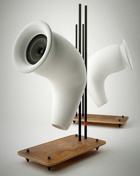 TAU speakers, by Hangar Design Forge