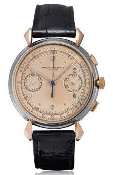 Vacheron Constantin Stainless Steel and Rose Gold Chronograph Ref. 4178, circa 1941