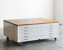Luxury Flat File Drawer Cabinet