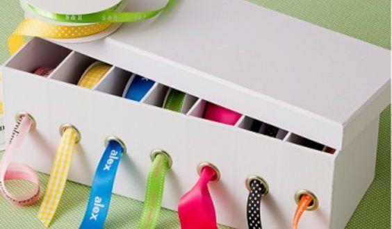 Ideias de Artesanato com Caixas de Sapato    9