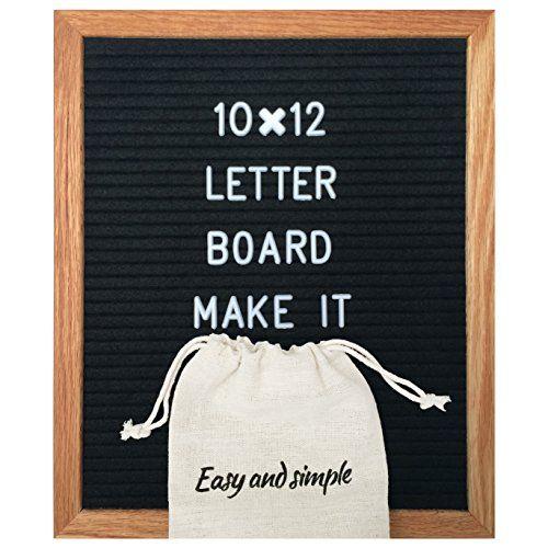 Modern Black Felt Letter Board 10x12 Inch Best Changeab Https Www Amazon Com Dp B0795t2sdn Ref Cm Sw R Pi Dp Letter Board Felt Letter Board Felt Letters