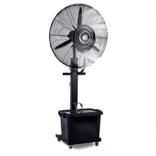 Zhangyy Oscillating Misting Fan Adjustable Height Spray Mist Fan Humidification Pure Copper M In 2020 Oscillating Fans Misting Fan Pedestal Fan