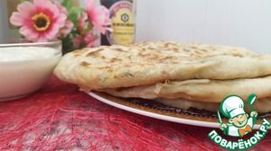 Алу парата- индийская кухня