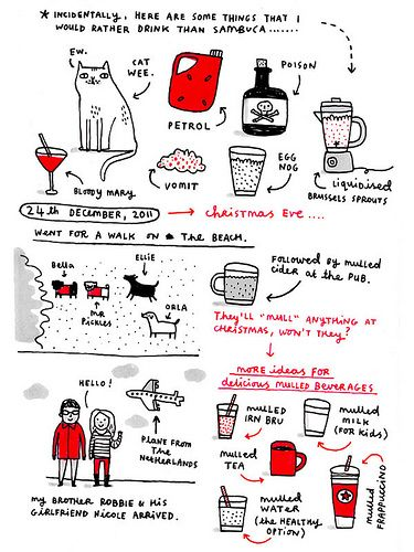 Gemma Correll: Sketches Illustrations, Christmas Gemma, Random Things, Drawn Patterns, Doodle Inspirations, Gemma Correll, Random Heart, Doodles Sketches