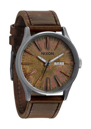 Nixon Oxyde oxidized watch face