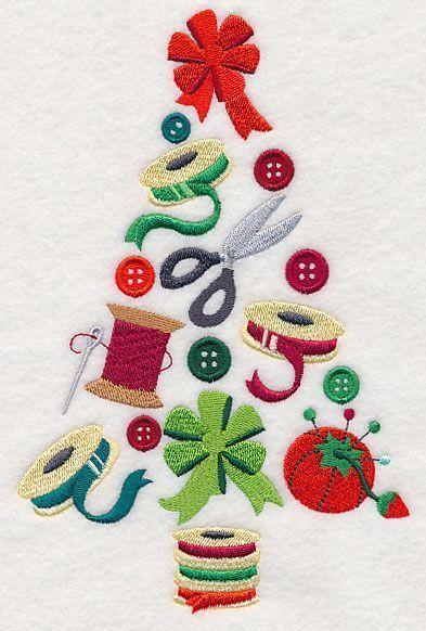 Ideias de Costura - Bordados de Natal | LOJA SINGER PORTO | Bloglovin'