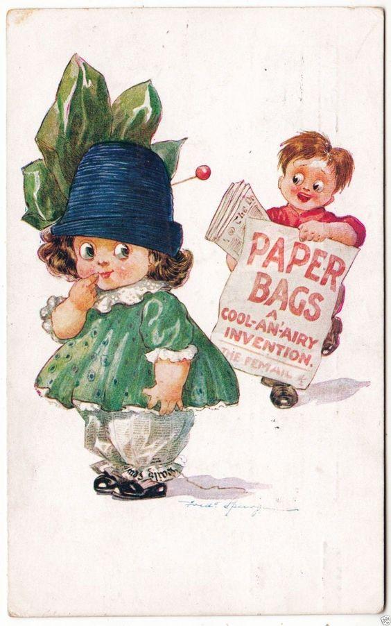 FRED SPURGIN postcard - 1912: