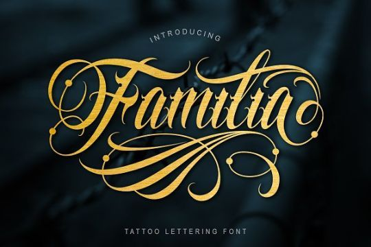24 Tatuajes de letras cholas