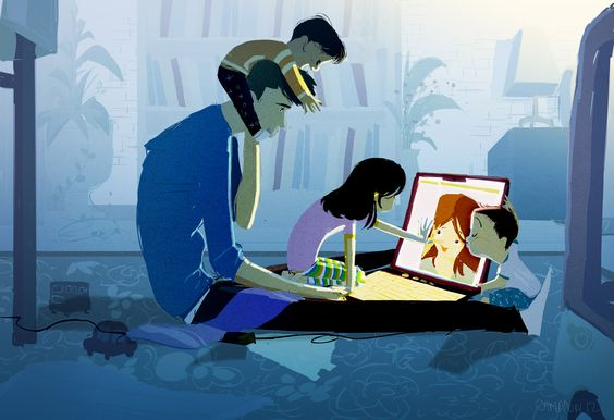 Pascal Campion's Skyping