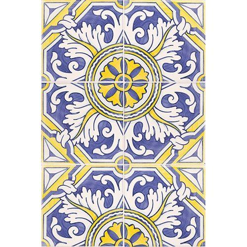 Kaleidescope Multi Color Pattern 122m Glazed Ceramic Tiles 6x6 Country Floors Of America Llc In 2020 Glazed Ceramic Tile Ceramic Tiles Glazed Ceramic