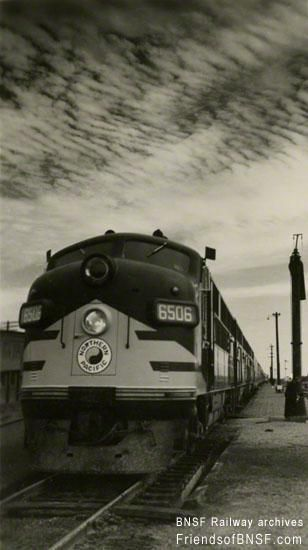 Northern Pacific Np Railway 6506 Is A 1 500 Horsepower Class F3a Diesel Locomotive Built By