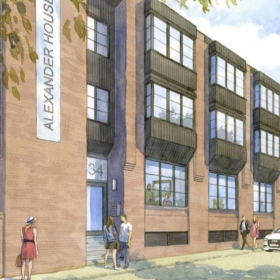 Our Survey Commenced Today On These New Luxury Apartments Blocks In Chester Today Using Reynaers Aluminium