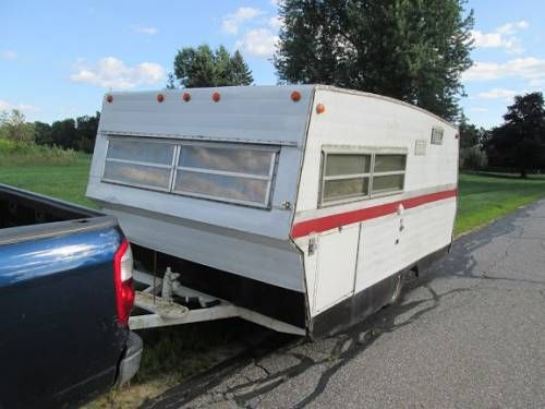 Travelmate Vintage Camper Small Low And Light Can Fit In