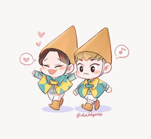 Image de exo, Chen, and xiumin