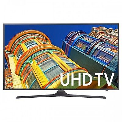 "Samsung 65"" 4K UHD LED Black Smart HDTV with WiFi and HDR Premium 