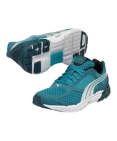 Take a look at this Blue Grass Faas 500 S Running Shoe by PUMA on #zulily today! $55 !!