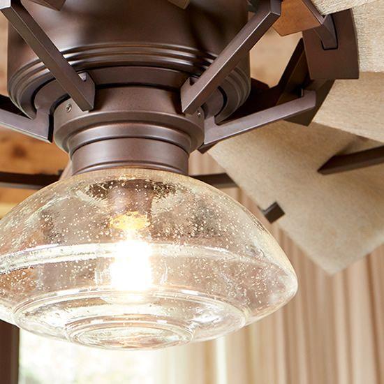 Quorum 1902 Clear Seedy Glass Damp Location Light Kit On Windmill Fan Deep Discount Lighting Ceiling Fan Light Kit Fan Light Fan Light Kits