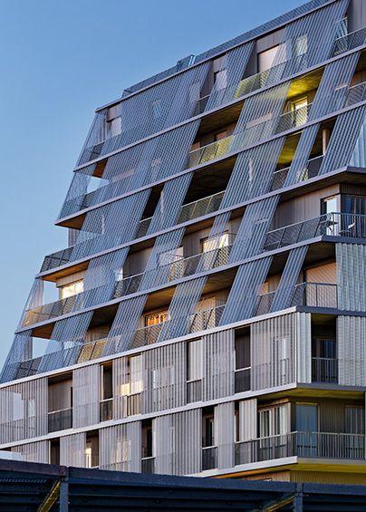 Chartier-Dalix Architectes : Groupe scolaire et résidence étudiante…