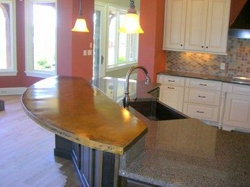 Two toned kitchen custom cupboards cabinetry with white for Kitchen design knoxville