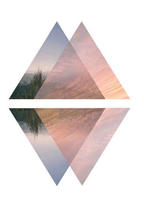 to wallpaper triangles design - photo #40