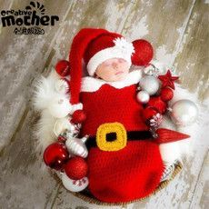 Best christmas gift - Knitting Wool Baby Sleeping Bag
