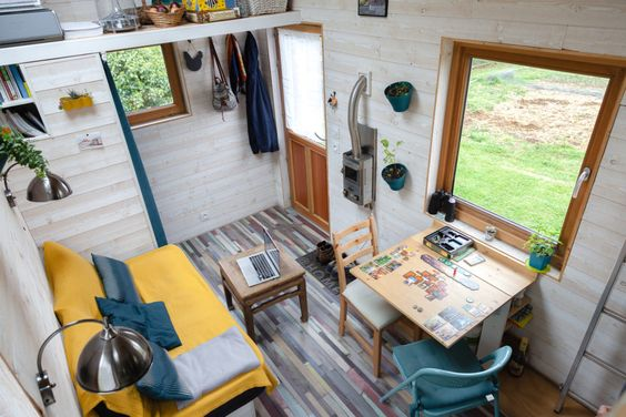 Vendue Tiny House D Occasion En Savoie Collectif Tiny House Tiny House A Vendre A Vendre Decoration Maison