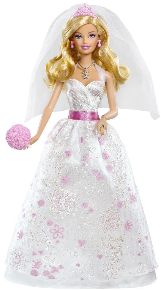2012 Wedding Bride Barbie Doll X1170 Vestido De Noiva Barbie Casamento Barbie Barbie Princesa