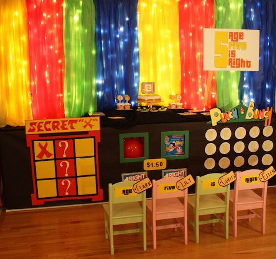 The price is right party. These decorations look better than the real set, no seriously.