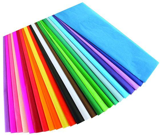 "Amazon.com: Hygloss 50 Tissue Assortment Bleeding Sheets, 12"" x 18"""