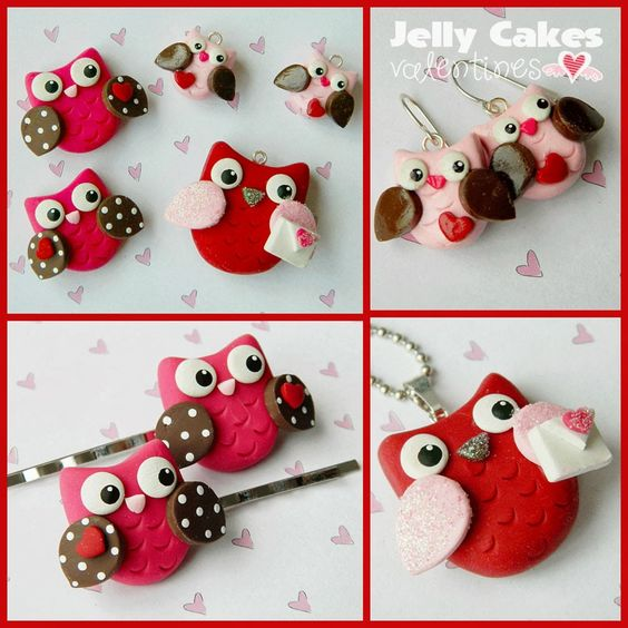 learn how to make cute owl jewelry and hair clips for ...