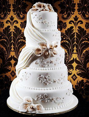 Indian outfit inspired cake #indianwedding #weddingcake