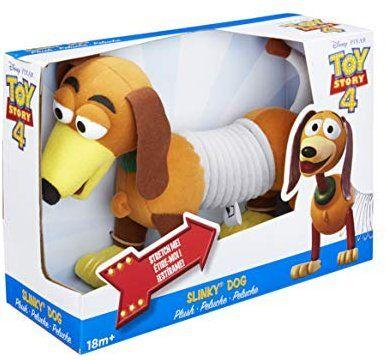Amazon Com Slinky Disney Pixar Toy Story 4 Plush Dog Toys