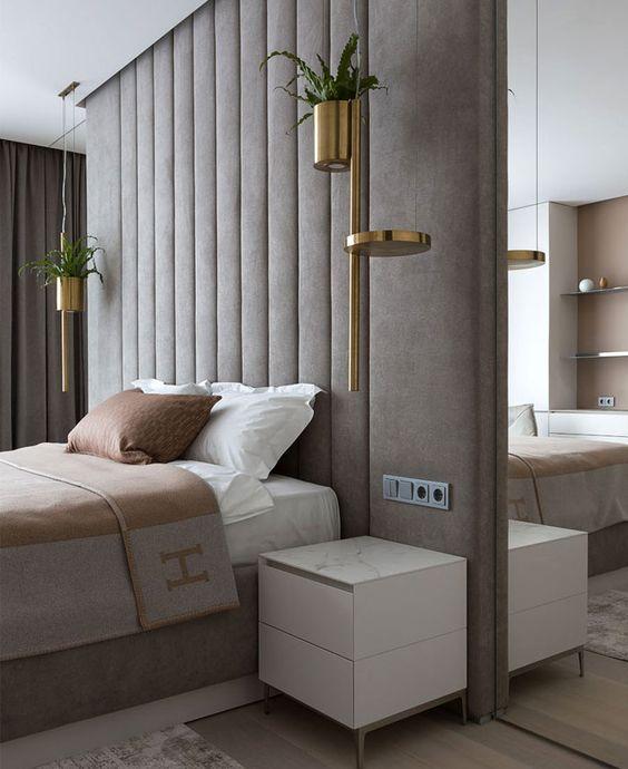 slaapkamer in hotel look