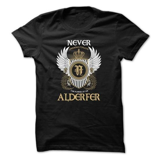 ALDERFER Never Underestimate - #funny tee #sweatshirt ideas. ALDERFER Never Underestimate, university sweatshirt,sweater skirt. LOWEST PRICE =>...