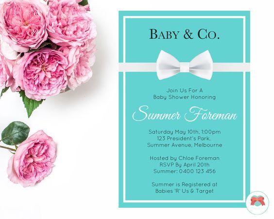 Teal Invitation | Baby Shower | Bridal Shower | Wedding | Bachelorette | Personalised | Digital | Printable