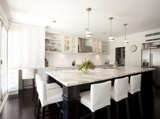 10 X 20 Kitchen Layout With Island Home Decor And Interior Decorating Ideas Kitchen Layout White Kitchen Design Kitchen Island With Seating