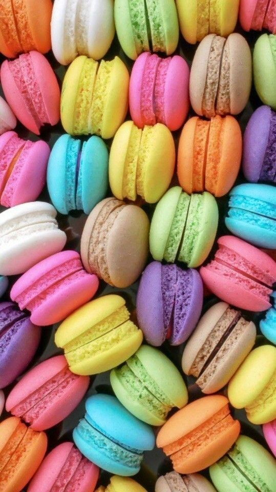 Macarons Macaroon Wallpaper Food Wallpaper Rainbow Food