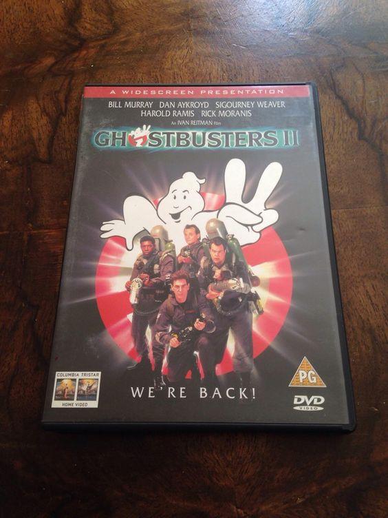 vintage GHOSTBUSTERS II circ 1999 DVD in Beckenham um £ 10,00 – Shpock