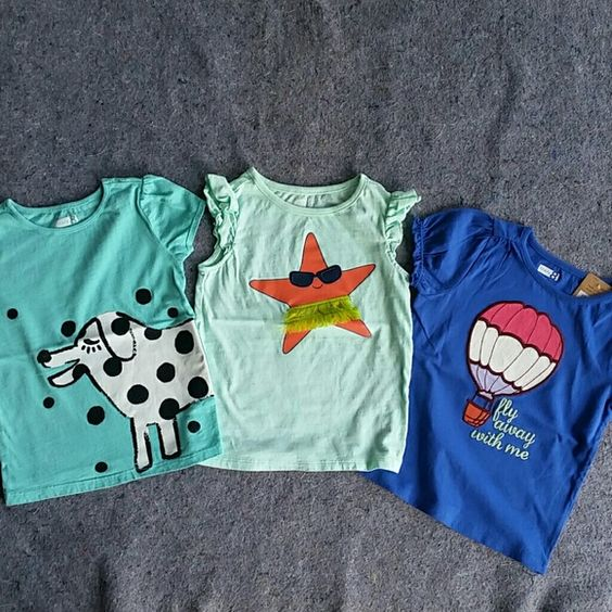 Crazy 8 Toddler Shirts Used, in new like condition. Only worn no more than 3x. The shirt with the hot air ballon is still new with tags. crazy 8 Shirts & Tops Tees - Short Sleeve