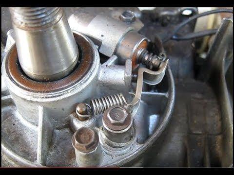 Reglage Rupteurs Briggs Et Stratton Reglage Vis Platinees Briggs Et Stratton Youtube Mecanique Auto Carburateur Moteur 4 Temps