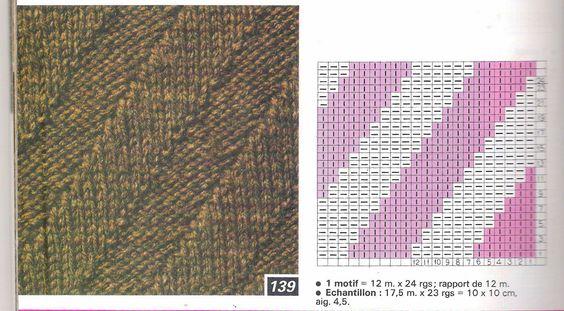 Magia do Crochet: Cachecol ondulado em tricot, sem avesso e com receita