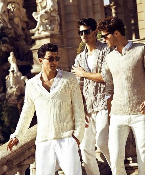Italian style :) gotta fit in ;)