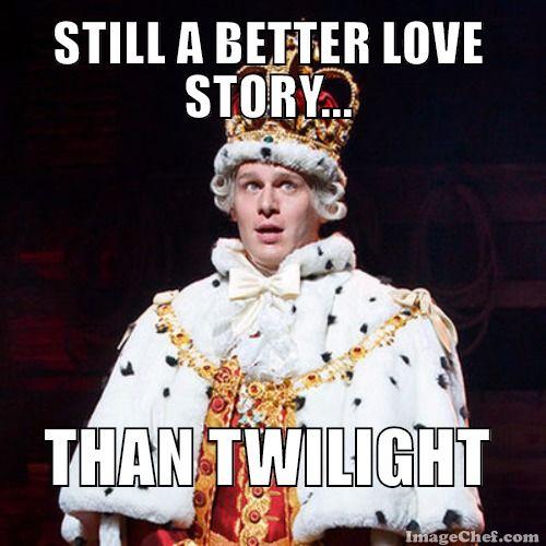 Alexander Hamilton: King George