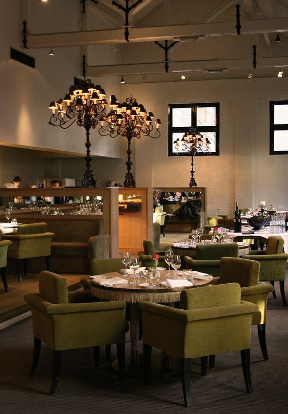 Restaurant @ The College Hotel, Amsterdam.