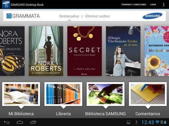 Video tutorial para descargar, instalar y usar la app SAMSUN DESKTOP BOOK.